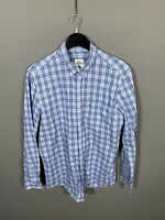LACOSTE Shirt - Size Large - Blue - Check - Great Condition - Men's