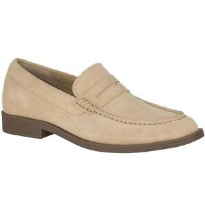 Sperry Mens Manchester Pen Suede Sand Loafer Shoes