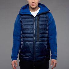 Nike Aeroloft Tech Fleece 800 Down Hooded Jacket Obsidian Size Small 678261-451