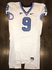 Game Worn Used Nike North Carolina Tar Heels UNC Football Jersey #9 Size 46