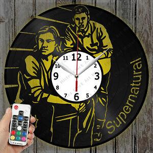 LED Clock Supernatural Vinyl Record Clock Art Decor Original Gift 4132