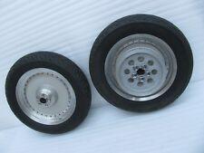 set Harley Davidson Softail Fat Boy Front & Rear Wheels & Tires & Rotor & Pulley