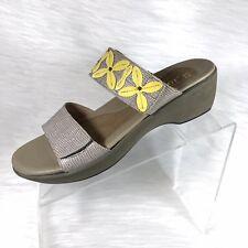 8abf18266f31c Naot Port Women s Colonial Beige lemon Leather Sandals Shoes 40 ...