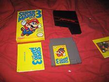 NES Nintendo Super Mario Bros. 3 Complete In Box CIB Brothers III