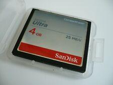SanDisk 4 GB Compact Flash CF Memory Card NIKON D2H D70 Premium Upgrade DSLR