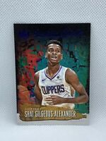 2018 Panini Court Kings Shai Gilgeous-Alexander /25 Emerging Artists Sapphire