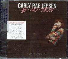 CARLY RAE JEPSEN E-MO-TION DELUXE EDITION + 3 BONUS TRACKS CD NEW 2015 EMOTION
