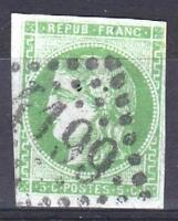 """FRANCE STAMP TIMBRE 42 Bd """" CERES BORDEAUX 5c VERT SAUGE """" OBLITERE A VOIR P527"""