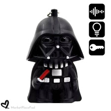 Star Wars Keychain Accessory Led Light with Sound Home Car Safety Darth Vader