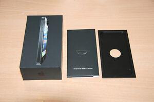 Originalverpackung Apple Iphone 5 - 16GB- Schwarz