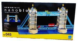 Nanoblocks Tower Bridge Deluxe NB-045 - 1700 Pieces - Building Blocks - New