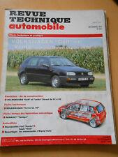 RTA revue technique n° 557 VOLKSWAGEN golf et vento diesel depuis 1992
