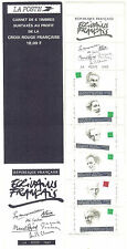 CARNET PERSONNAGES CELEBRES 1993 NEUF** QUALITE LUXE YVERT N° BC 2805
