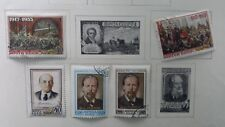 RUSSIA, 1955, Lot of (5) used, Hinged Stamps