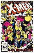 1)UNCANNY X-MEN #254(12/89)GIANT-SIZE X-MEN #1-HOMAGE(NEW MUTANTS)(CGC IT)NM/NM+