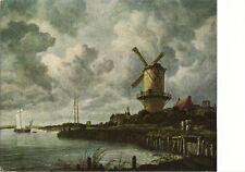 Postcard Jacob Van Ruisdael Mill Near Wijk Bij Duurstede Rijksmuseum Amsterdam