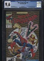 Web of Spider-Man #50 CGC 9.6 Silver Sable 1989 PROWLER