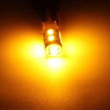 4-pack T10 Wedge Amber Yellow LED Marker Corner Signal Light Bulbs 194 168