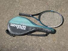 "WILSON PRO STAFF 6.0 OVERSIZE Tennis Racquet 110"" DUAL TAPER BEAM GRIP 4 1/4"""