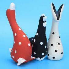 3pcs Pet Dog Puppy Toy Latex Chew Sound Squeaky Training Toy Animals Shape
