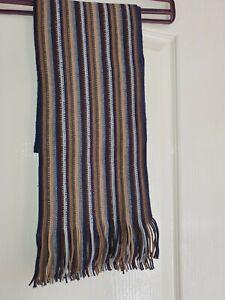 Mens Next scarf in multi-colour stripes, In VGC