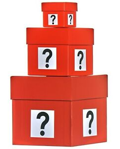 Set of 3 Deal or No Deal Surprise Boxes - Wedding Proposal ? Birthday Gift ? Etc