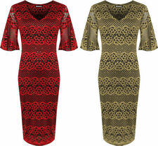 V-Neck Casual Plus Size Dresses for Women