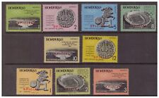 Honduras MNH 1965 Official,Cultures, Ethnicities set mint stamp SGO650-658