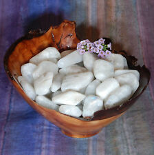 1 PURE WHITE MOONSTONE Tumbled Stone - Consciously Sourced Healing Crystals