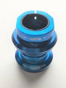 "Odyssey Toro Pro Blue Alloy Headset 1 1/8"" Threaded Needle Bearing Vintage 90s"