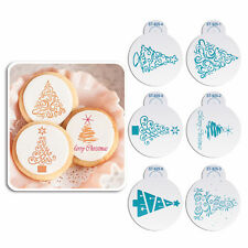 Description: Christmas Cookie Stencil Fondant Cake, 6 pieces/set Material: Plast