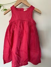 """Collette Dinnigan """"Young Hearts"""" Girls Pink Dress with Lace inset- size 4"""