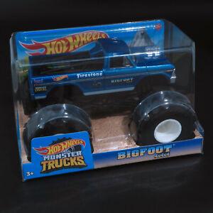 Hot Wheels - Monster Trucks - Bigfoot - 1:24 - Brand New