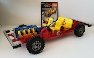 Lego 853 Car Chassis Vintage Technic with Instructions