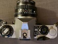 Pentax ME Super 35mm SLR Film Camera with 50mm Pentax SMC F1.7 Lens