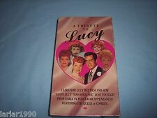 Tribute to Lucy (VHS, 1990)~ I Love Lucy Tribute to Lucille Ball VHS Tape