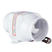 "SEAFLO 4"" Boat In Line Bilge Blower Fan 12V Marine Cabin Engine Ventilation"