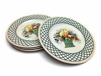 Villeroy & Boch Basket Garden 4 Piece Porcelain Salad Plate - Made In Germany