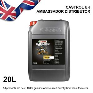 20L Castrol MAGNATEC Stop-Start 5w-30 5W30 C3 Fully Synthetic - Engine Oil