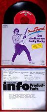 Single Frank Ford: la vecchia casa di Rocky Docky (TELEFUNKEN 613118 AC) D 1981