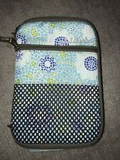 LL Bean Lunch Box Blue Mosaic Insulated Bag Zip Cooler Tote Picnic Soft
