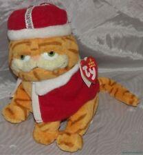 "New Retired 2006 TY BEANIE BABIES Plush 8"" HIS MAJESTY GARFIELD The CAT w/Crown"