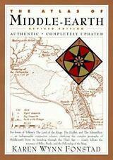 LOTR The Atlas of Middle-Earth Tolkien Hobbit 1992, PB Houghton Mifflin
