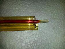 250 g Glasstangen Moretti (Effetre) rot transparent