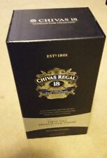 Chivas Regal Aged 18 Years limited edition 1 Litre empty bottle & box