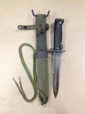 M5A1 Bayonet and K-M8A1 Scabbard - M1 Carbine / M1 Garand - Korean