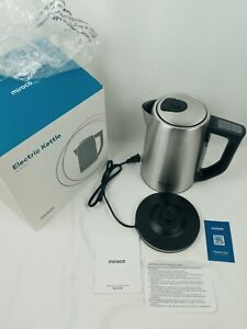 Miroco Electric Kettle Temperature Control Stainless Steel 1.7 L Tea Kettle