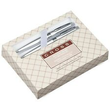 At Cross Limited Cardinal Pen & Pencil Gift Set Silver