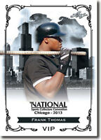 (50) FRANK THOMAS - 2013 Leaf National Convention VIP Promotional Card LOT