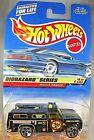 1998 Vintage Hot Wheels #720 Biohazard Series 4/4 RESCUE RANGER Black w/5Dot Sp
